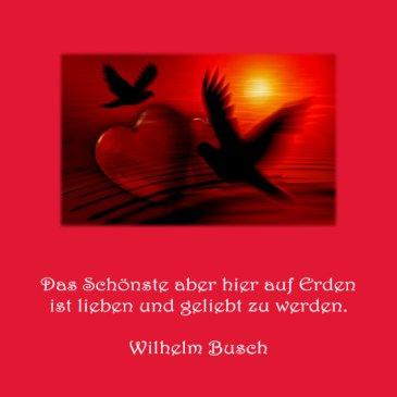 Heiraten Hochzeit Spruch der Woche Wilhelm Busch